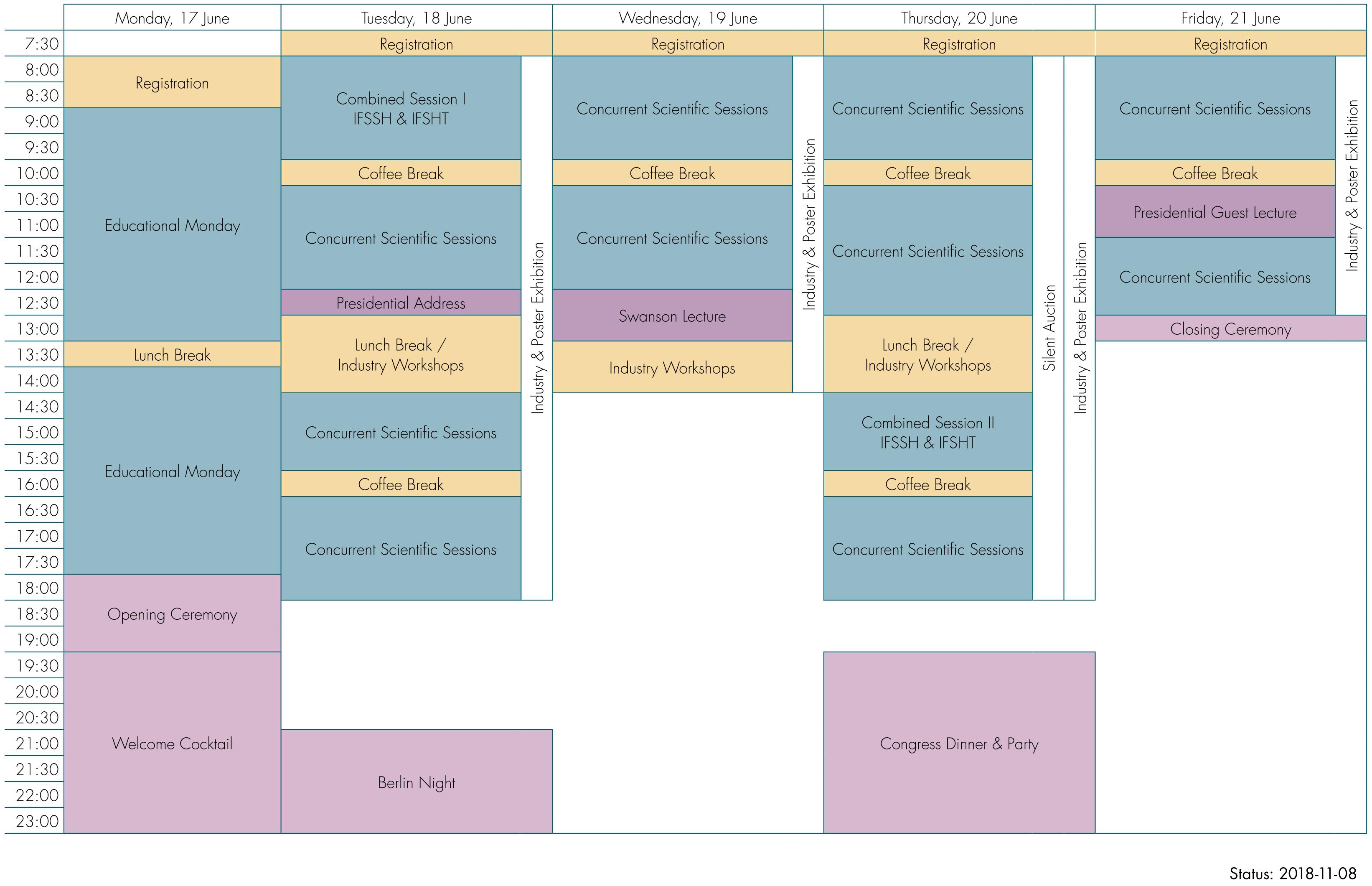 IFSSH19_Schedule