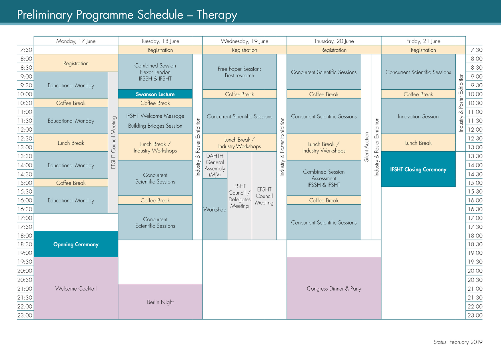 Schedule Therapy