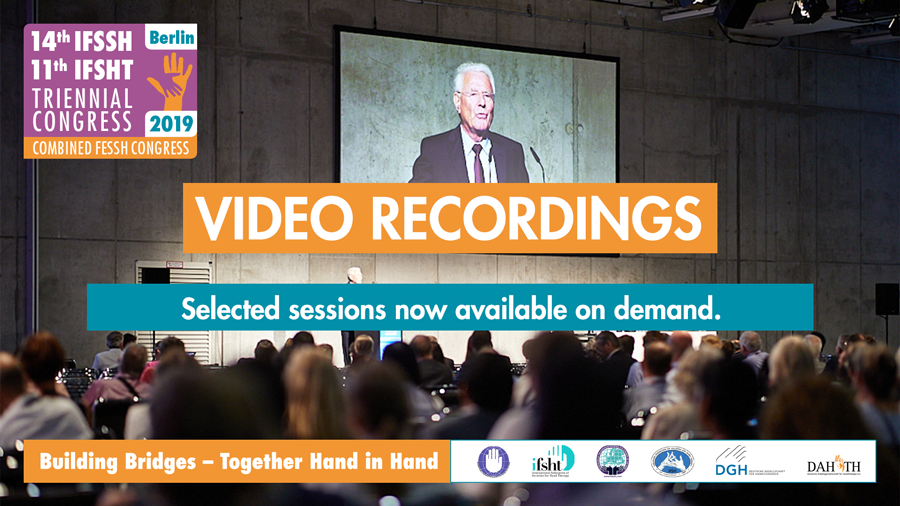 IFSSH2019 Selected sessions now available on demand